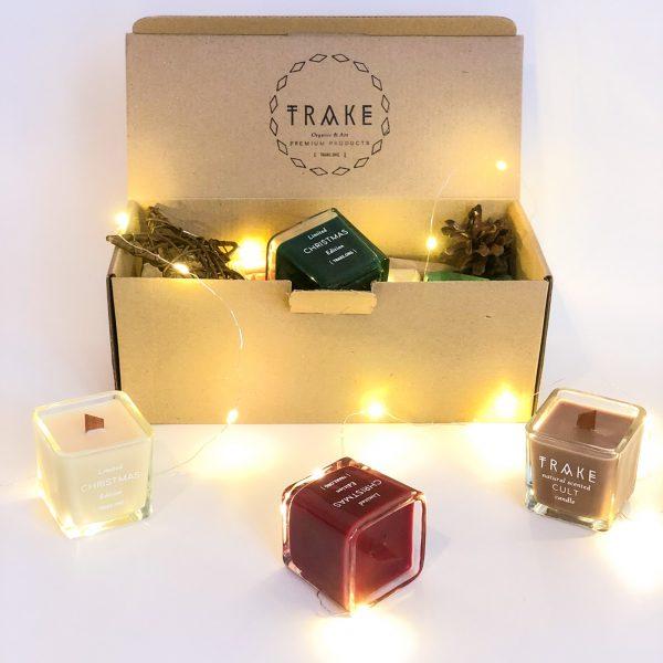 Комплект свещи за подаряване