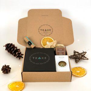 White gift box by TRAKE