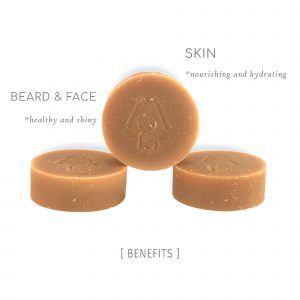 Beard and face soap